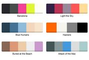 Animated Color Palette Plugin For jQuery - Color Swatches