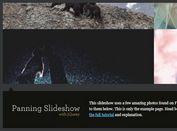 Animated Panning Image Slideshow With jQuery - animatedPanelSlideshow