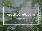 App Style One Page Scroll Plugin With jQuery - AppLikeOnePage.js