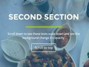 <b>Applying Scroll-triggered Animations To Elements Using jQuery - scrollfx</b>