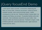 Auto Set Focus On Text Field Or Editable Element - jQuery focusEnd