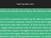 Auto-sliding Fixed Top Navigation With jQuery And CSS