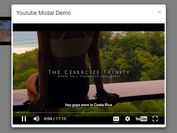 Autoplay Youtube Videos In Bootstrap Modal - jQuery YoutubeModal