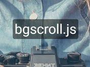 Minimal Background Parallax Scrolling Plugin - bgscroll.js