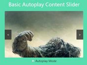 Basic Autoplay Content Slider with jQuery and CSS3