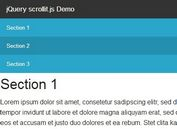 Basic Smooth Scroll Plugin with jQuery - scrollit.js