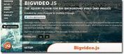 Big Background Video Plugin - Bigvideo.js