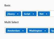 Bootstrap 4 Tag Input Plugin With jQuery - Tagsinput.js