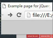 <b>Browser Title Bar Notification Plugin with jQuery - Titlealert</b>