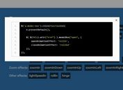 CSS3 Animated Modal Plugin with jQuery And CSS3 - modalBox