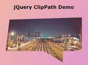 Cross-browser CSS3 Clip-path Polyfill - jQuery ClipPath