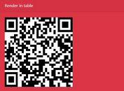 <b>Canvas Or Table Based QR Code Generator - jQuery qrcode</b>