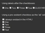 Check/Uncheck All Related Checkboxes - jQuery create-checkall