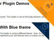 Circular Corner Loader with jQuery and CSS3 - jmyloader