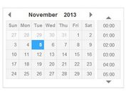Clean jQuery Date and Time Picker Plugin - datetimepicker