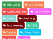 Colorful Tag Cloud Plugin For jQuery - prettyTag