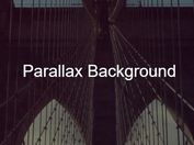 Configurable Smooth Parallax Scroll Effect In jQuery - parallax-background.js