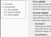 Configurable TOC & Page Index Generator With jQuery - contentNavigator