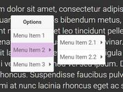 Context Menu Plugin For Bootstrap - jQuery Hummingbird Popover