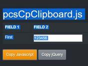 Copy Text To Clipboard Plugin - pcsCpClipboard.js