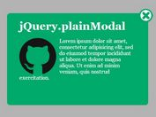 Creating A Flat Style Modal Window with jQuery plainModal Plugin