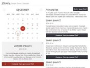 Creating A Pretty Event Calendar with jQuery