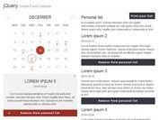 Creating A Pretty Event Calendar with jQuery