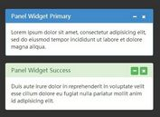 Creating Collapsible Bootstrap Panels with jQuery