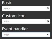 Custom Input Clear Button Plugin For Bootstrap - bootstrap-add-clear.js