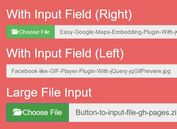 Customizable Bootstrap File Input Plugin With jQuery