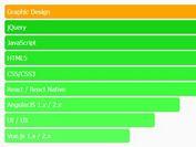 Customizable HTML5 Horizontal Bar Chart Plugin With jQuery - hBarChart