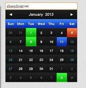 Customizable and Lightweight Date Picker Plugin For jQuery -