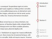 Customizable Page Scroll Progress Indicator Plugin For jQuery