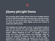 Customizable Pull To Refresh Indicator With jQuery - ptrLight