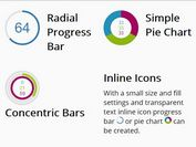 Customizable Radial Progress Bar Plugin With jQuery
