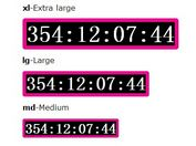 Customizable jQuery Countdown Timer Plugin - countdownTimer
