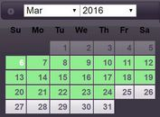 Date Range Picker With jQuery And jQuery UI - DateRangePicker