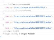 Detect Image Loading Status With jQuery - imagesStatus