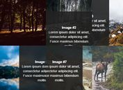 Direction-aware Gallery Hover Effect With jQuery - SnakeGallery