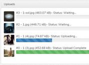 Drag And Drop AJAX Uploader Plugin - jQuery File Uploader