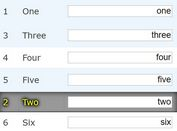 Customizable Drag-and-Drop Table Sorting Plugin - jQuery TableDnD