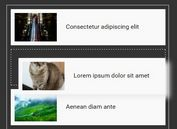 Simplest Drag To Sort Plugin For jQuery - drag-sort
