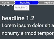 Dynamic Breadcrumb-style Table Of Contents Plugin - dynamicBreadcrumb