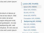 Dynamic jQuery Scrollspy Plugin For Bootstrap - Dynamicscrollspy.js