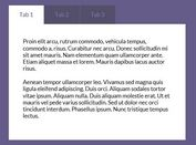 <b>Easy & Animated jQuery Tabbed Content Plugin - Tabulous</b>