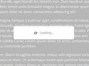Easy Customizable Loading Mask Plugin With jQuery - mloading