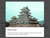 Easy Customizable jQuery Modal Plugin Plugin - MiMo