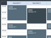 Easy Dynamic jQuery 24 Hours Schedule Calendar Plugin - Skeduler