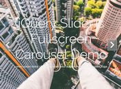 Easy Fullscreen Carousel Slider Plugin For jQuery - slider.js