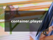 Easy HTML5 & Youtube Video Background Plugin - container.player